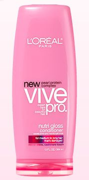 L'Oreal VIVE PRO Nutri Gloss Med-Long hair DAMAGED