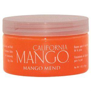 California Mango- Mango Mend Skin, Cuticle & Nail Balm