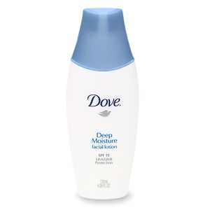 Final, sorry, Dove facial product commit error