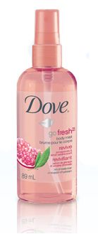Dove go fresh revive pomegranate & lemon verbena