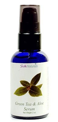 Silk Naturals Green Tea & Aloe Serum