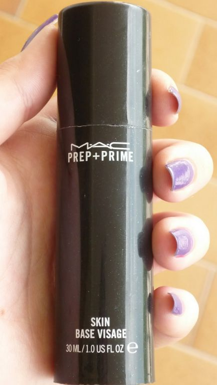 mac prep and prime skin review