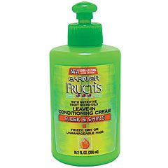 Garnier FRUCTIS Sleek and Shine - Leave-in Conditioning Cream