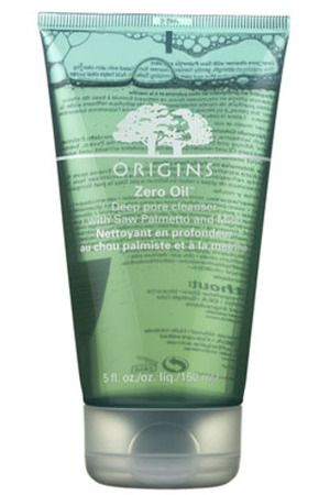 Origins Zero Oil Deep Pore Cleanser with Saw Palmetto and Mint
