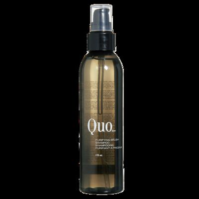 quo purifying brush shampoo reviews photos ingredients