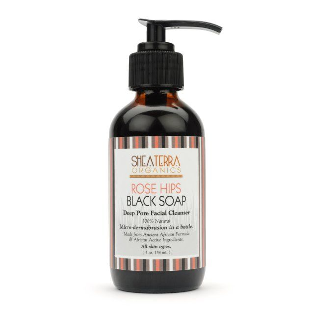 Is black soap good for face
