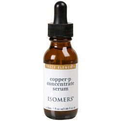 Isomers copper p concentrate serum