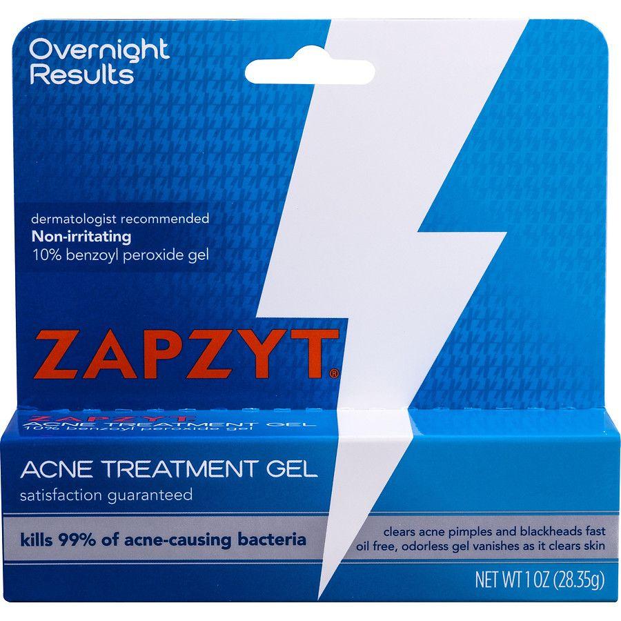 Maximum Strength 10% Benzoyl Peroxide Acne Treatment Gel