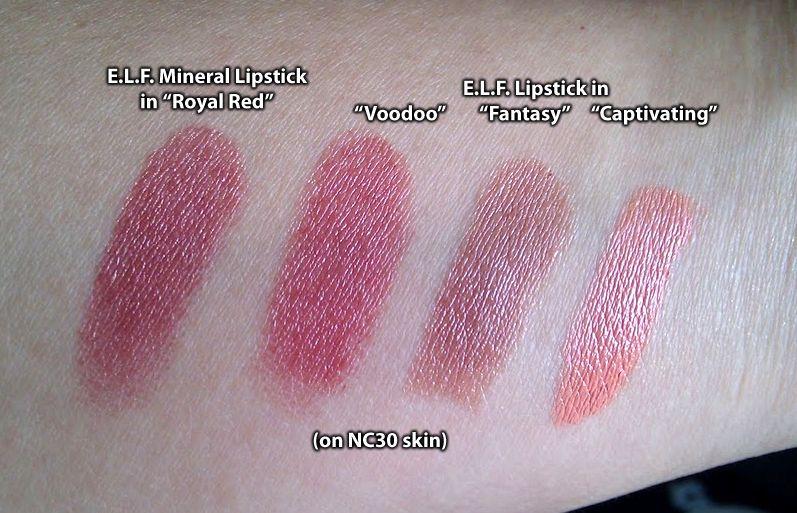 Beautifully Bare Satin Lipstick by e.l.f. #10