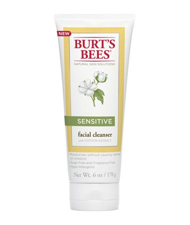 Burt's Bees Sensitive Facial Cleanser with Cotton Extract