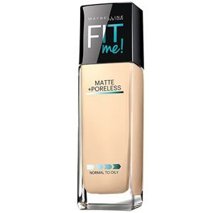 Image result for Maybelline Fit Me! Matte + Poreless Foundation; $6.00