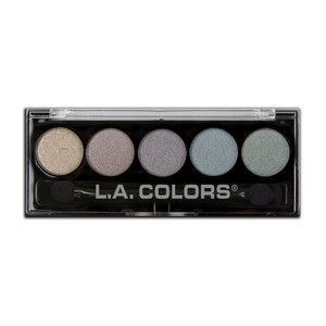 LA Colors 5 color metallic palette- 105 Chromatic