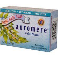 Auromére tulsi neem soap