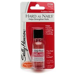 Sally Hansen Hard As Nails Hardener - Natural Tint