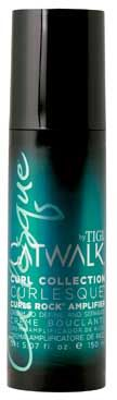 TiGi Catwalk Curl Collection Curlesque Curls Rock Amplifier Cream