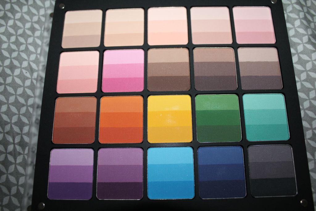 Inglot Rainbow Eyeshadows (Uploaded by D-Girl)