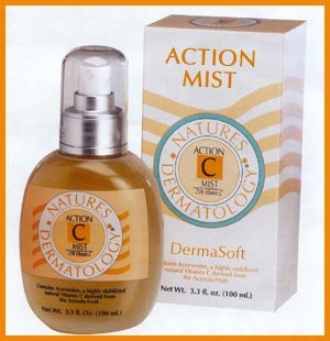 Nature's Dermatology Action C Mist Toner