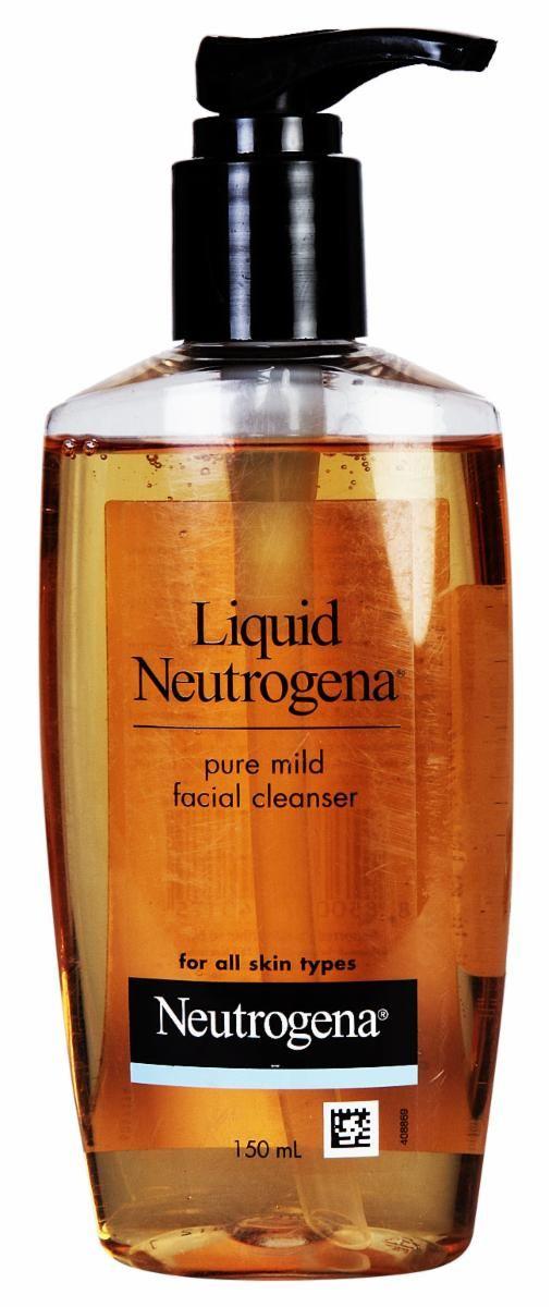 Neutrogena facial cleansing formula
