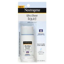 Neutrogena Ultra Sheer Liquid Daily Sunblock spf 70