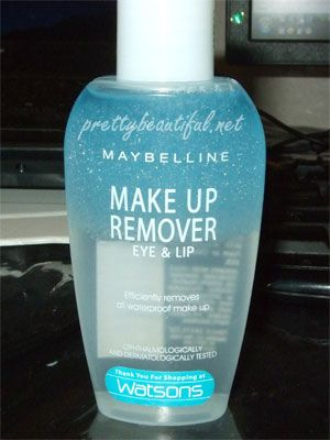 Maybelline New York Eye Lip Makeup Remover Reviews Photos Ingredients Makeupalley