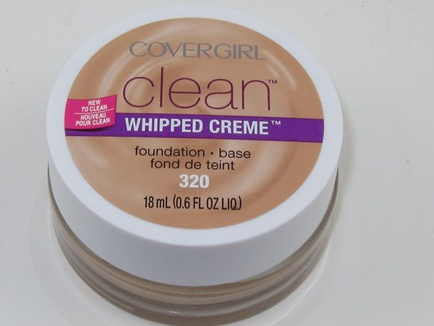 Cover Girl Clean Whipped Creme Foundation ] ] [DISCONTINUED]