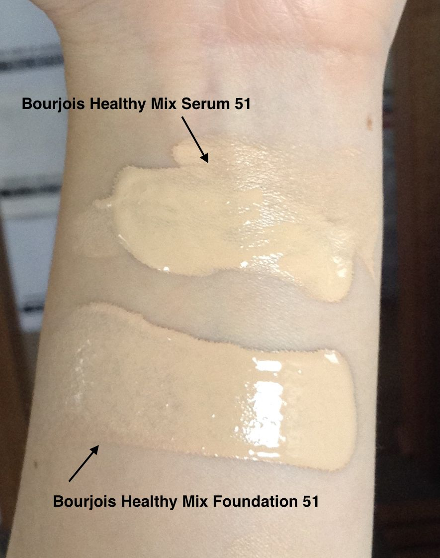 Bourjois Healthy Mix Foundation Reviews Photos Ingredients