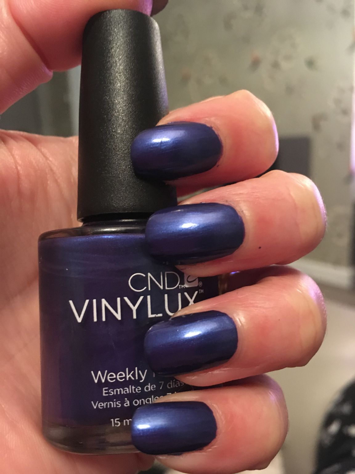 Creative Nail Design Vinylux - Purple Purple reviews, photos ...