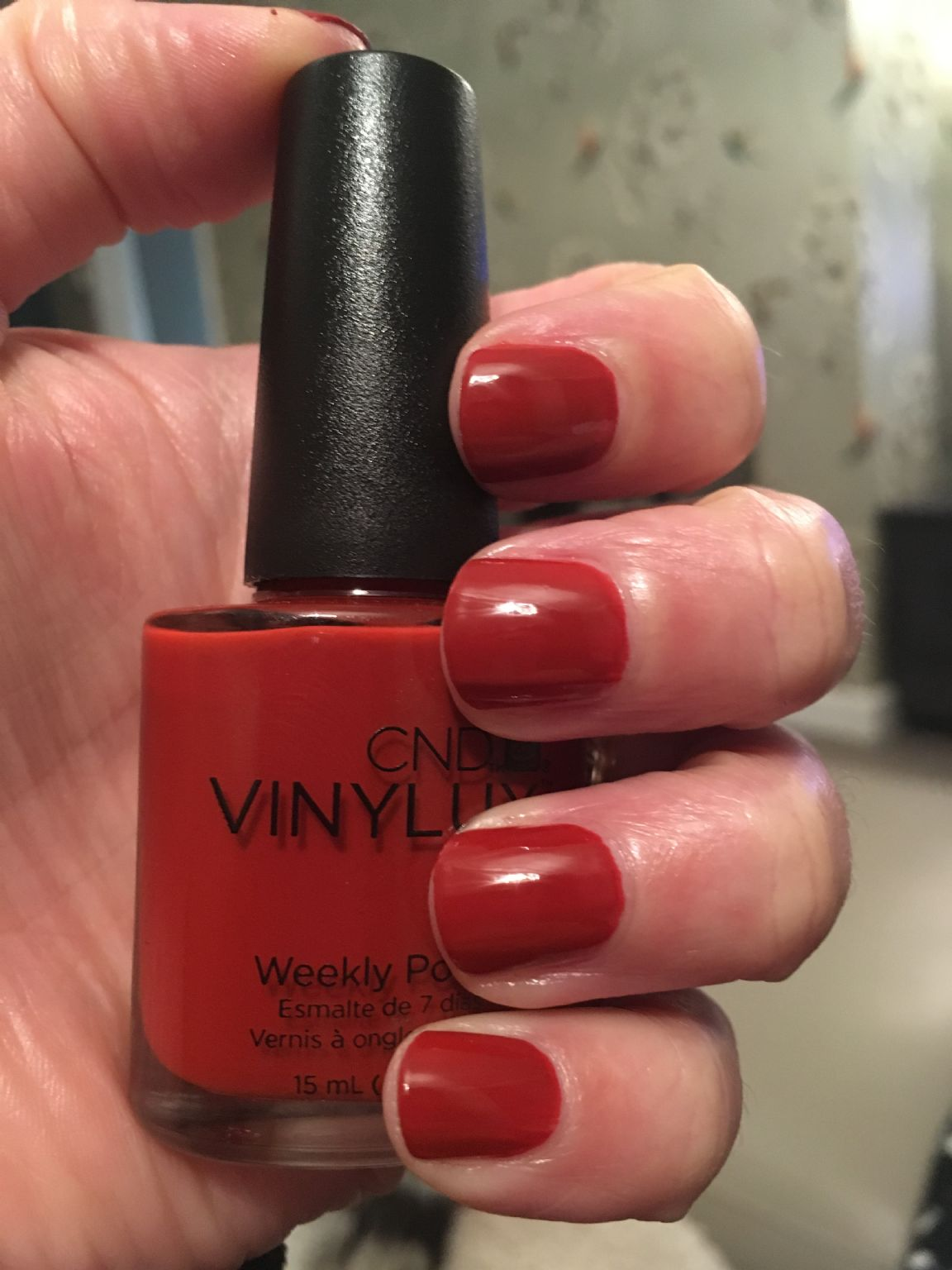 Creative Nail Design Vinylux - Brick Knit reviews, photos - MakeupAlley
