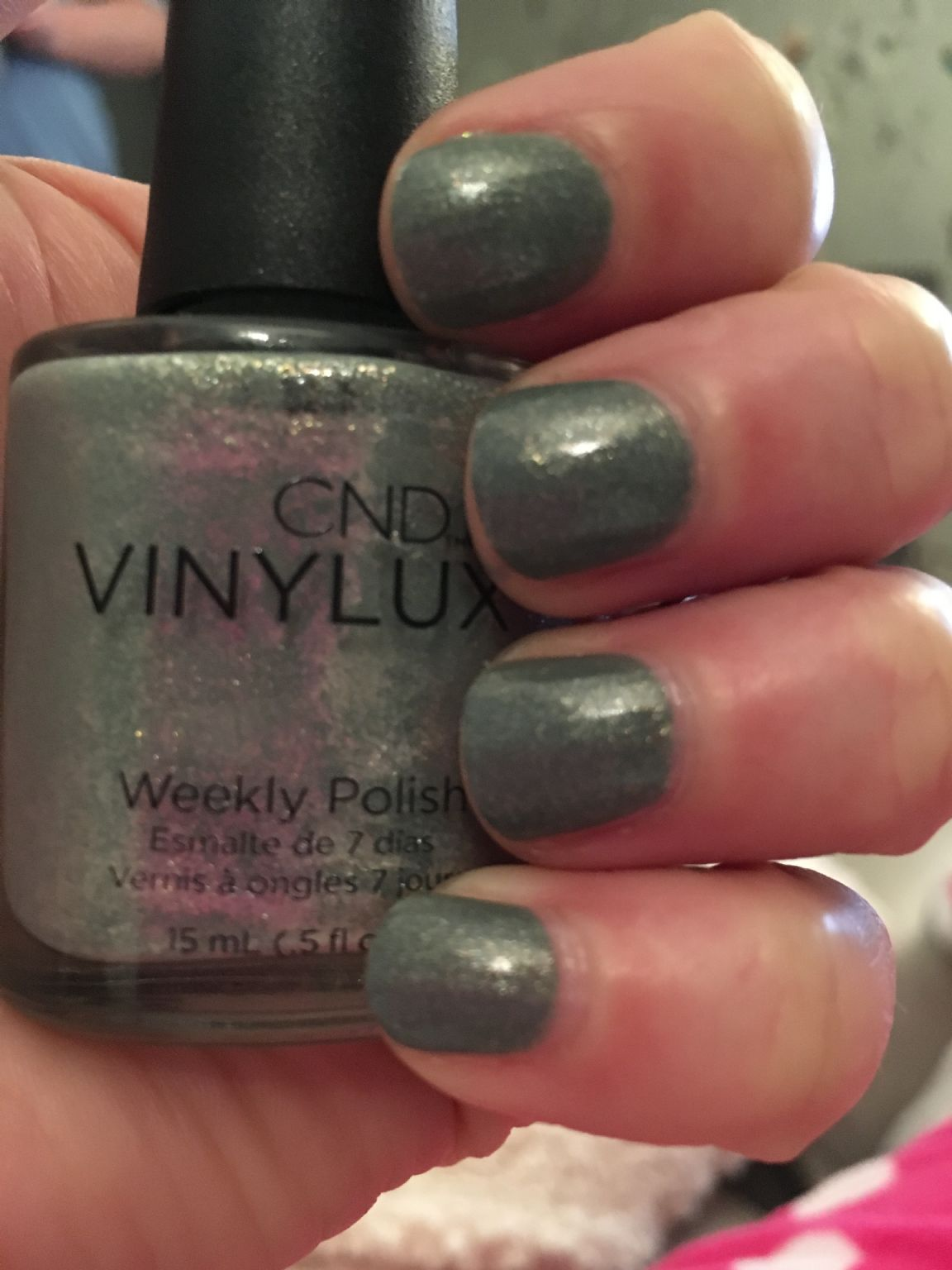 Creative Nail Design Vinylux - Wild Moss reviews, photos - MakeupAlley