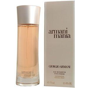 Giorgio Armani Mania (re-release 2004; beige cap, not black)