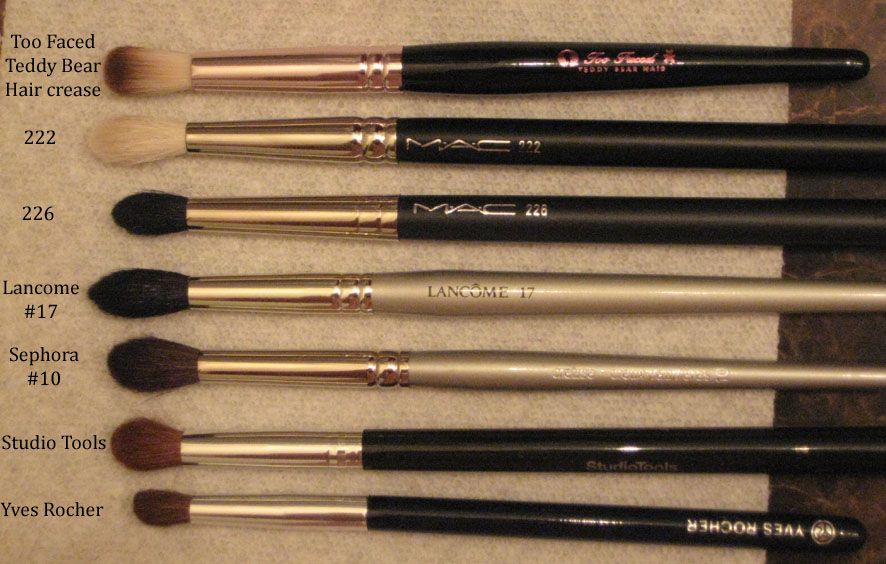 Mac 226 Small Tapered Blending Brush Bbr Collection