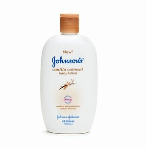 Johnson & Johnson Vanilla Oatmeal Baby Lotion