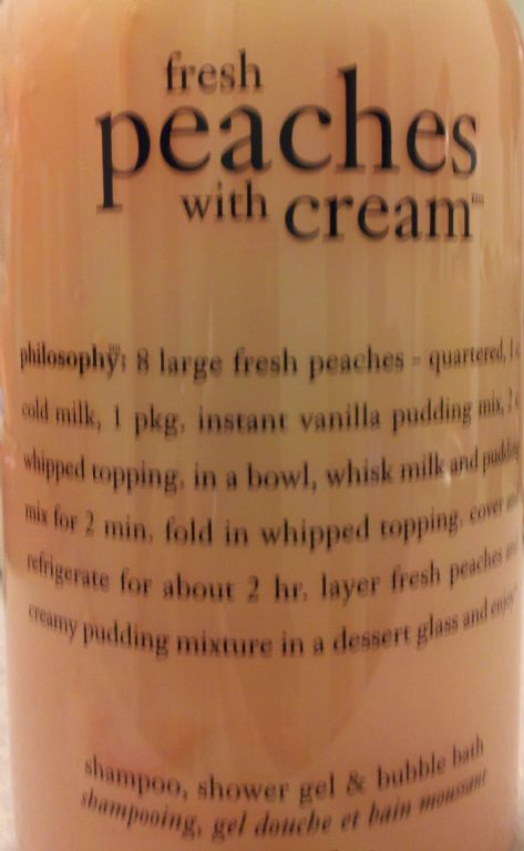 Philosophy Fresh Peaches with Cream Showergel