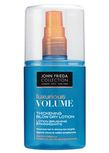 John Frieda Luxurious Volume Thickening Blow Dry Lotion [DISCONTINUED]