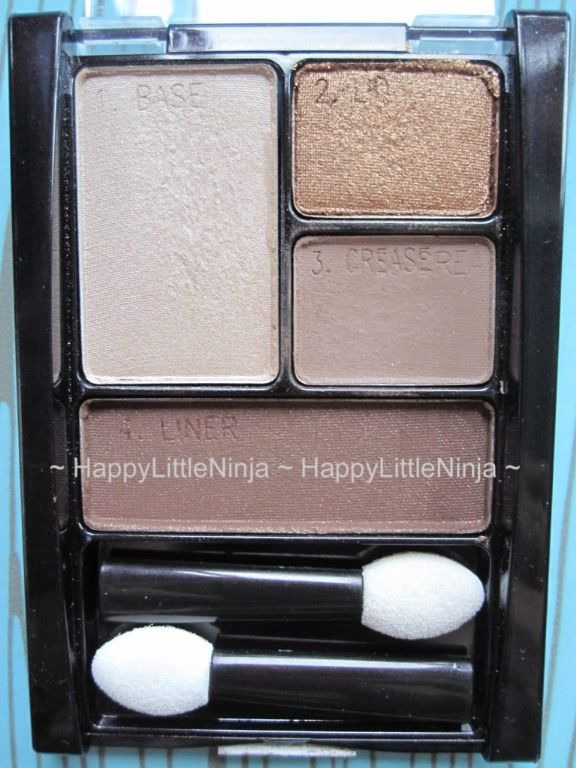 Maybelline ExpertWear Eyeshadow Quad in Chai Latte reviews, photos ...