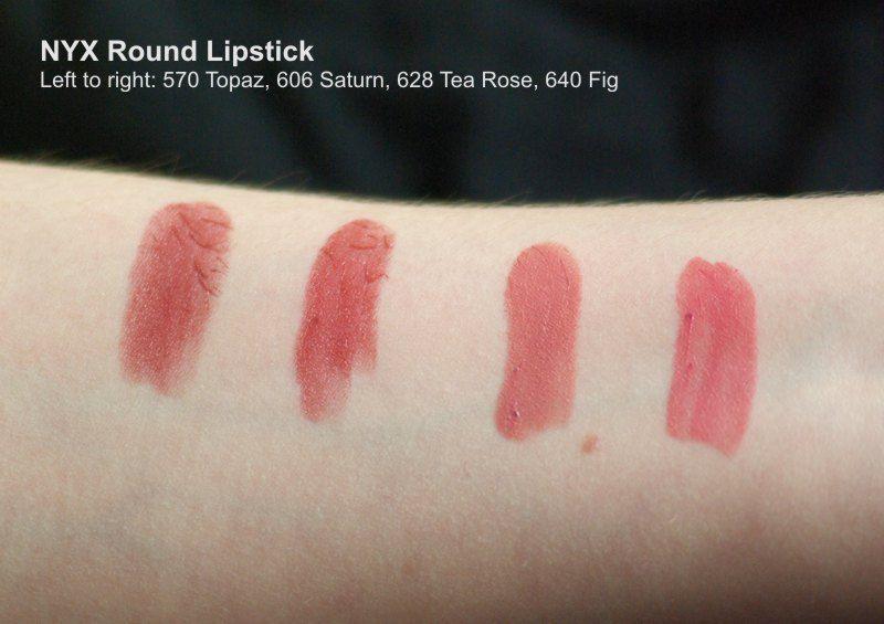 Nyx Professional Makeup Matte Lipstick Tea Rose Reviews Photos