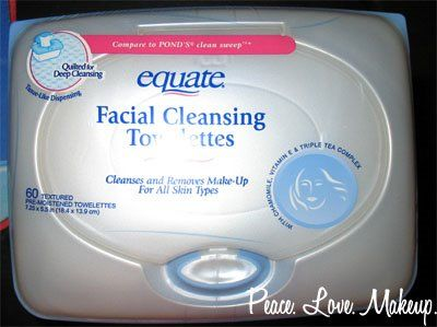 Equate 3,1 Facial Cleansing Towelettes