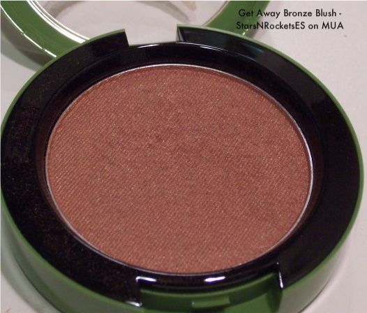 MAC Get Away Bronze Blush, to the beach collection (Uploaded by StarsnRocketsES)