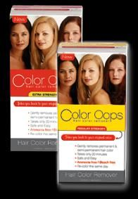 Color Oops Regular Strength Hair Color Remover Reviews Photos