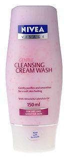 Nivea Gentle Cleansing Cream Wash
