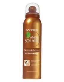 Garnier Ambre Solaire No Streaks Bronzer Dry Body Mist