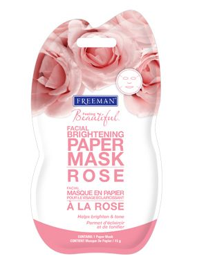Freeman Rose Brightening Facial Paper Mask