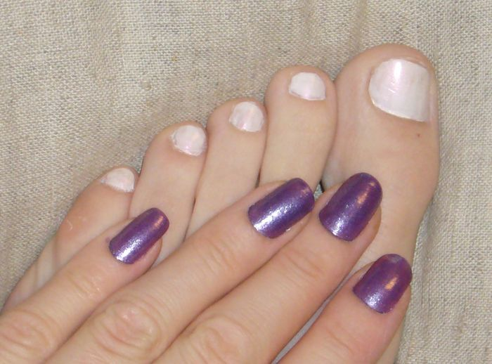 China Glaze Nail Lacquer - Grape Juice reviews, photos ...