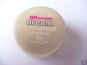 Maybelline Dream Mousse shadow Vanilla Veil