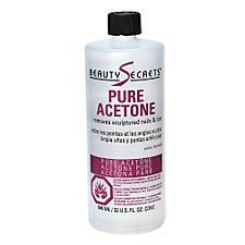 Beauty Secrets Acetone Nail Polish Remover