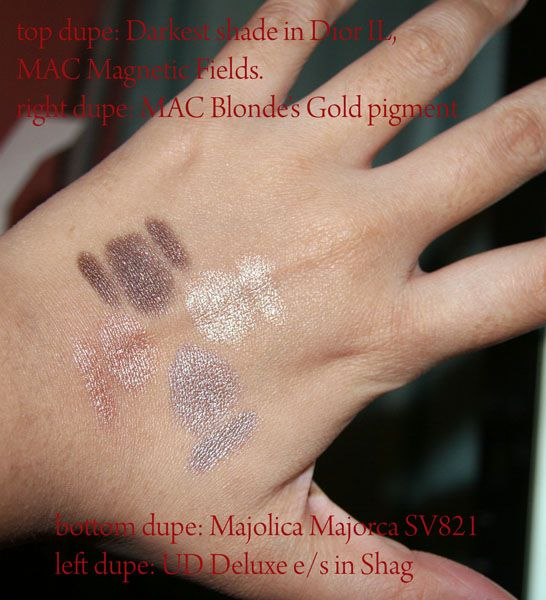 Bedhead Fool Proof e/s quad dupe swatches (Uploaded by juaini)