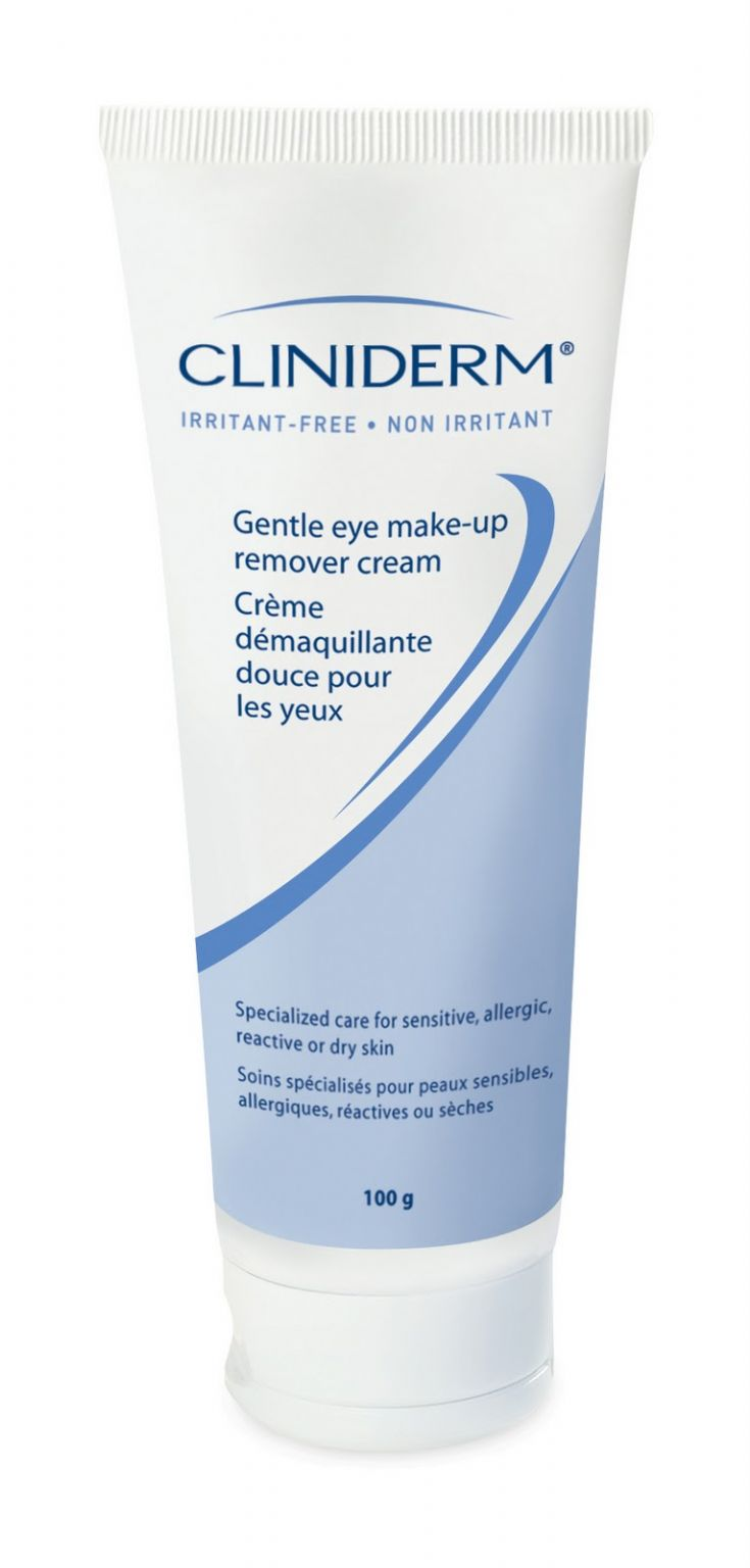 Cliniderm  Gentle Eye Make-Up Remover Cream