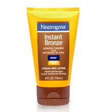 Neutrogena Instant Bronze sunless tanner and bronzer in one in medium