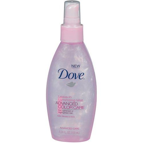 Dove Advanced Color Care leave-in luminizing mist