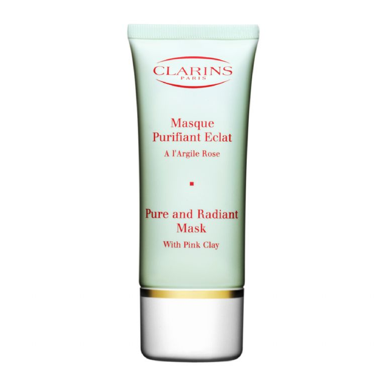 Clarins Pure & Radiant Mask With Pink Clay